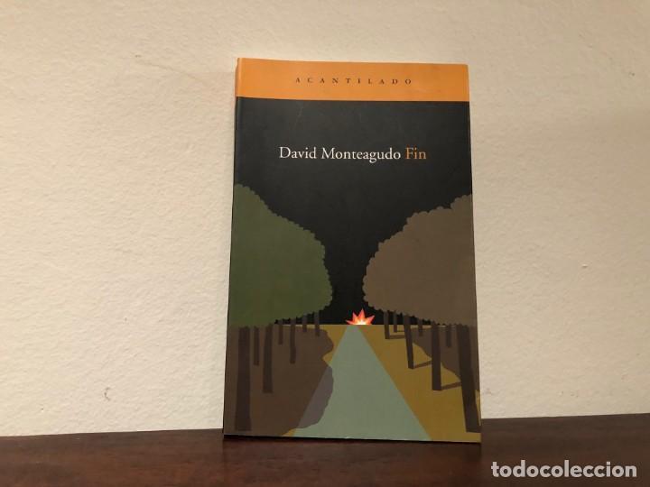 FIN. DAVID MONTEAGUDO. ACANTILADO. TERROR. AMBIENTE CLAUSTROFÓBICO. (Libros antiguos (hasta 1936), raros y curiosos - Literatura - Narrativa - Ciencia Ficción y Fantasía)