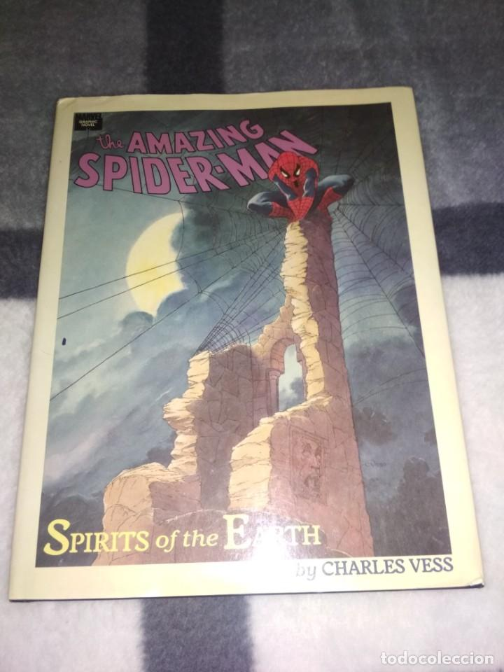 Libros antiguos: Spiderman Spirits of the Earth no forum no panini ingles Espiritus de la tierra Spider man grafica - Foto 17 - 185778496