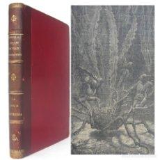 Libros antiguos: 1900 - JULIO VERNE: VEINTE MIL LEGUAS DE VIAJE SUBMARINO - LA ISLA MISTERIOSA - GRABADOS. Lote 186220887