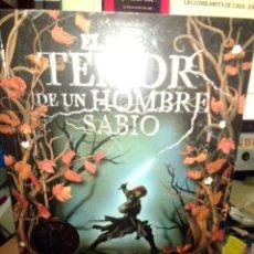 Libros antiguos: EL TEMOR DE UN HOMBRE SABIO, PATRICK ROTTHFUSS, DEBOLSILLO EDIT.. Lote 186440821