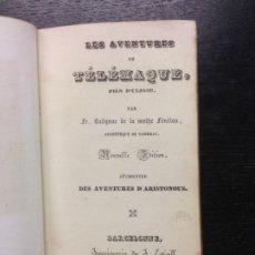 Libros antiguos: LES AVENTURES DE TELEMAQUE, FILS D´ULISSE, FENELON, 1841. Lote 187099607