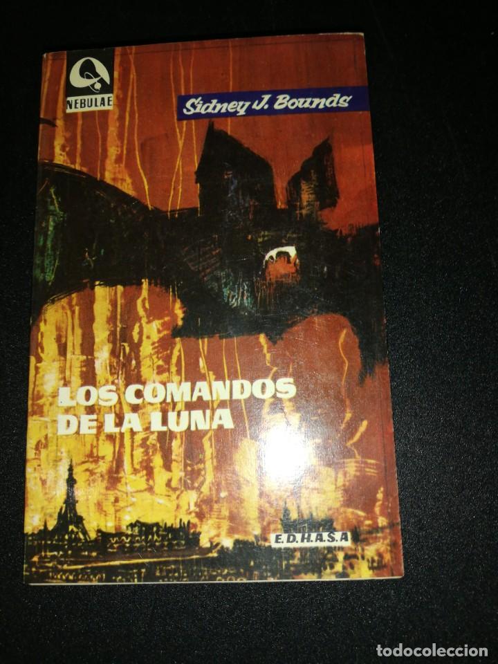 SIDNEY J. BOUNDS, LOS COMANDOS DE LA LUNA (Libros antiguos (hasta 1936), raros y curiosos - Literatura - Narrativa - Ciencia Ficción y Fantasía)