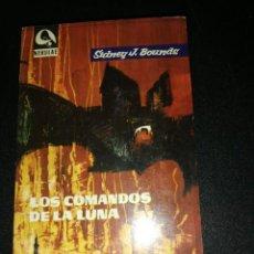 Libros antiguos: SIDNEY J. BOUNDS, LOS COMANDOS DE LA LUNA . Lote 188430462