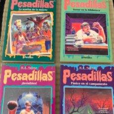 Libros antiguos: PESADILLAS CUATRO LIBROS. Lote 189335707