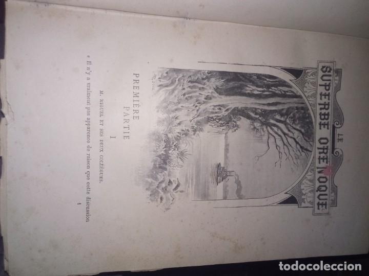 Libros antiguos: 1898. Julio verne. Le superbe orenoque ILLUSTRACTION DE GEORGE ROUX. COLLECTION HETZEL 411 PAGINAS - Foto 2 - 190994513