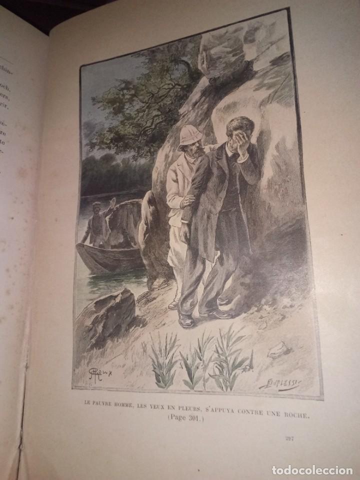 Libros antiguos: 1898. Julio verne. Le superbe orenoque ILLUSTRACTION DE GEORGE ROUX. COLLECTION HETZEL 411 PAGINAS - Foto 7 - 190994513