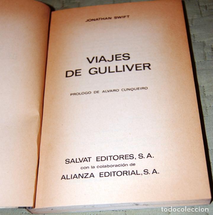Libros antiguos: Viajes de Guilliver, de Jonathan Swift. - Foto 2 - 191156126