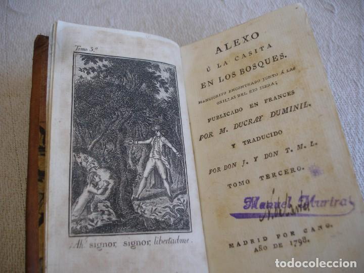 Libros antiguos: 1798. DUCRAY DUMINIL: ALEXO U LA CASITA EN LOS BOSQUES - Foto 13 - 191847688
