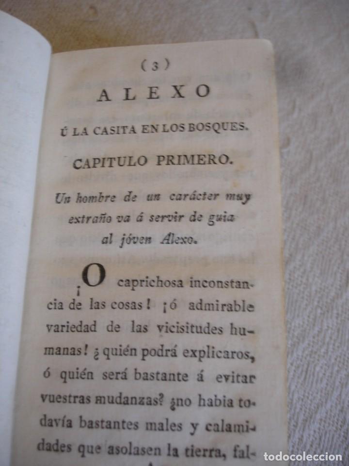 Libros antiguos: 1798. DUCRAY DUMINIL: ALEXO U LA CASITA EN LOS BOSQUES - Foto 14 - 191847688