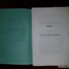Libros antiguos: EL CANTO DE LA LECHUZA. Lote 192710167