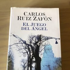 Libros antiguos: EL JUEGO DEL ÁNGEL DE CARLOS RUIZ ZAFÓN. Lote 192751585