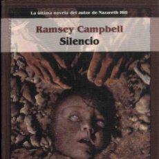 Livres anciens: SILENCIO ,RAMSEY CAMPBELL. Lote 193118142
