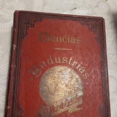 Libros antiguos: LIBRO EL MUNDO CIENTÍFICO 1904 BARCELONA. Lote 193657156