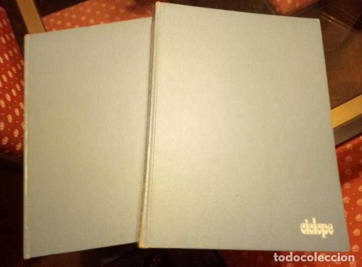 CÍCLOPE, LA INCÓGNITA DEL ESPACIO TOMO I Y II (Libros antiguos (hasta 1936), raros y curiosos - Literatura - Narrativa - Ciencia Ficción y Fantasía)