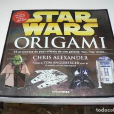 Livres anciens: STAR WARS ORIGAMI. Lote 194132991