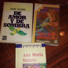 Libros antiguos: LOTE DE LIBROS. Lote 194224195