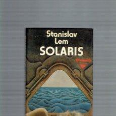 Libros antiguos: SOLARIS POR STANISLAV LEM EDICIONES MINOTAURIO 1 EDICION 1985. Lote 195108385