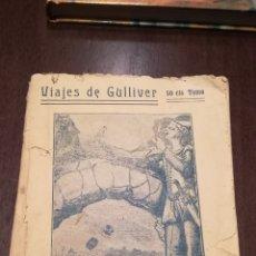Libros antiguos: VIAJES DE GULLIVER. TOMO IV. LIBRILLO ANTIGUO.. Lote 195334806