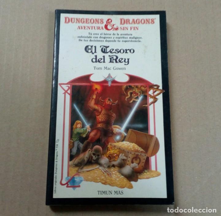 DUNGEONS & DRAGONS AVENTURA SIN FIN - NÚMERO 9 - EL TESORO DEL REY (Libros antiguos (hasta 1936), raros y curiosos - Literatura - Narrativa - Ciencia Ficción y Fantasía)