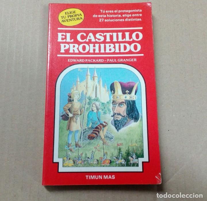 ELIGE TU PROPIA AVENTURA- NÚMERO 10 - EL CASTILLO PROHIBIDO (Libros antiguos (hasta 1936), raros y curiosos - Literatura - Narrativa - Ciencia Ficción y Fantasía)