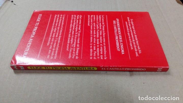 Libros antiguos: Elige tu propia aventura- número 10 - El castillo prohibido - Foto 3 - 196023992
