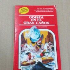 Livres anciens: ELIGE TU PROPIA AVENTURA- NÚMERO 40 - ODISEA EN EL GRAN CAÑON. Lote 196024046
