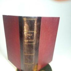 Libros antiguos: BIBLIOTECA DE GRANDES NOVELAS. JULIO VERNE. CINCO SEMANAS EN GLOBO, LA VUELTA AL MUNDO EN OCHENTA DÍ. Lote 197853877