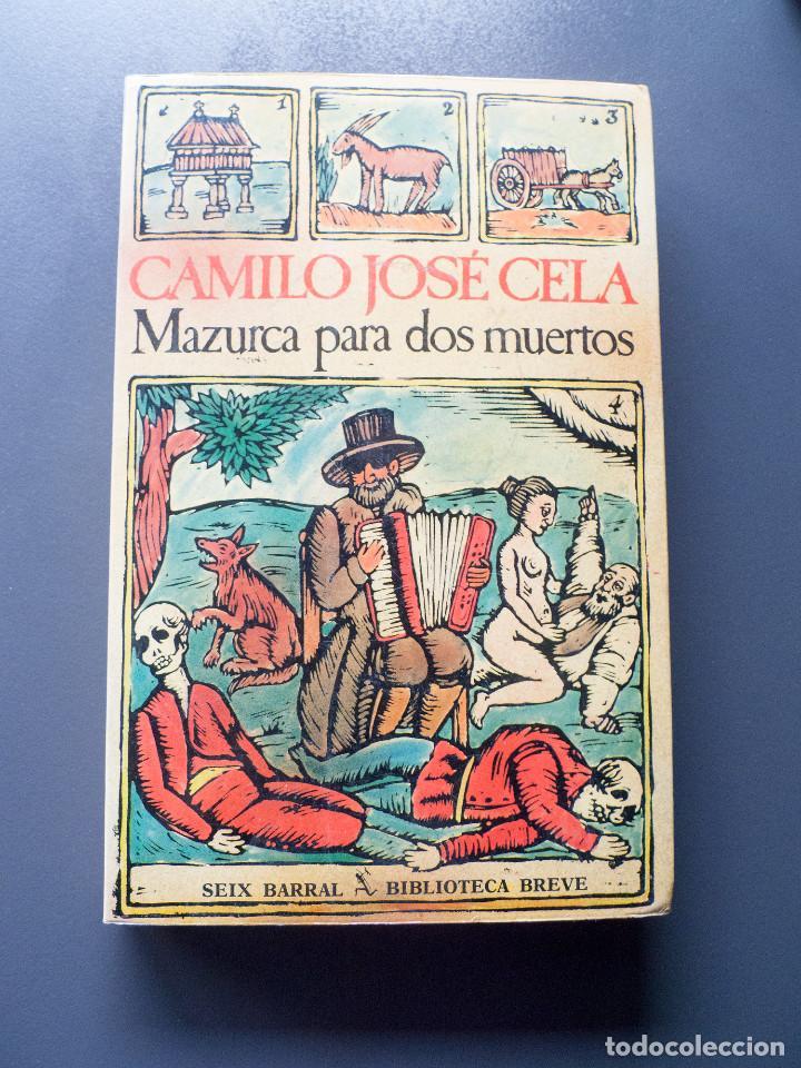 MAZURCA PARA DOS MUERTOS - CAMILO JOSE CELA (Libros antiguos (hasta 1936), raros y curiosos - Literatura - Narrativa - Ciencia Ficción y Fantasía)