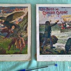Libros antiguos: LOS HIJOS DEL CAPITAN GRANT..1934..2 TOMOS..16,5 X 24 CTMS.. Lote 198822390