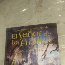 Libros antiguos: LOS MUNDOS MÁGICOS DE EL SEÑOR DE LOS ANILLOS - MITOS, LEYENDAS Y DATOS FASCINANTES - DAVID COLBERT. Lote 199168930