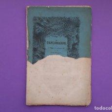 Libros antiguos: ANTIGUA NOVELA HISPANO AMERICANA EL EXPLORADOR DE GUSTAVO AYMARD ILUSTRA GARPAR Y ROIG 1875. Lote 199302162
