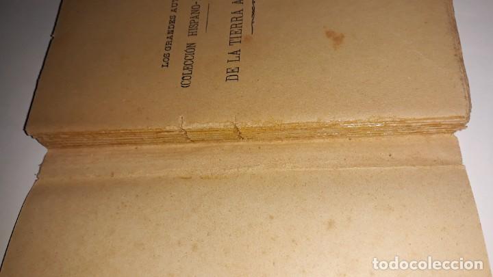 Libros antiguos: LOS GRANDES AUTORES COLECCIÓN HISPANO-AMERICANA DE LA TIERRA A LA LUNA JULIO VERNE BARCELONA c. 1900 - Foto 2 - 200854893