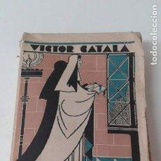 Libros antiguos: CONTRALLUMS VICTOR CATALA PRIMERA EDICION. Lote 203760942