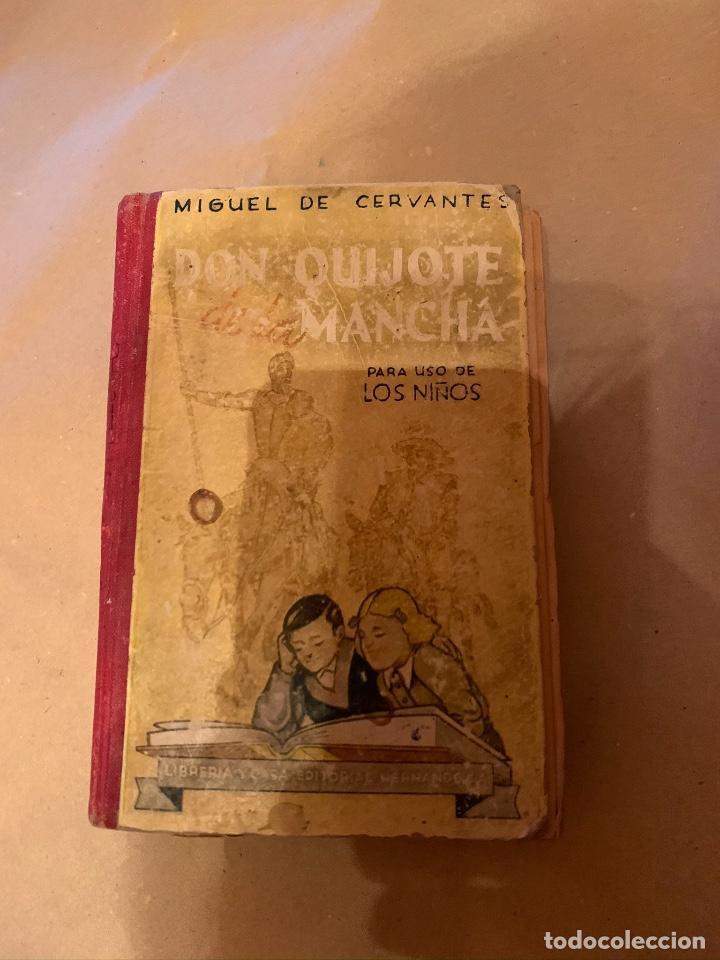 DON QUIJOTE DE LA MANCHA PARA NIÑOS (Libros antiguos (hasta 1936), raros y curiosos - Literatura - Narrativa - Ciencia Ficción y Fantasía)