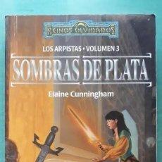 Libros antiguos: REINOS OLVIDADOS SOMBRAS DE PLATA LOS ARTISTAS VOL.3. Lote 207659176