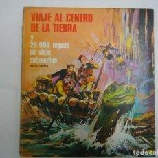 Livres anciens: VIAJE AL CENTRO DE LA TIERRA Y 20000 LEGUAS DE VIAJE SUBMARINO. EDICIONES LAIDA. AÑO 1970. Lote 208653716
