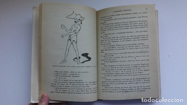 Libros antiguos: Peter Pan y Wendy: la historia del niño que no quiso crecer (1934) / J. M. Barrie. Juventud. - Foto 10 - 209185612