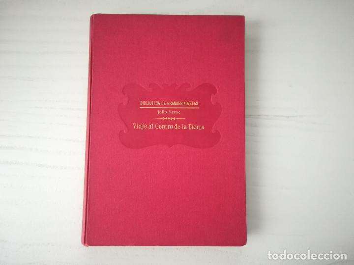 Libros antiguos: 1931. Viaje al centro de la Tierra. J Verne. Editorial Ramón Sopena. Biblioteca de Grandes Novelas - Foto 2 - 210222420