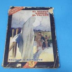 Libros antiguos: LA NOVELA FANTÁSTICA- EL DIABLO GUARDA EL TESORO - MALCOLM WHEETER NICHOLSON. Lote 212476796