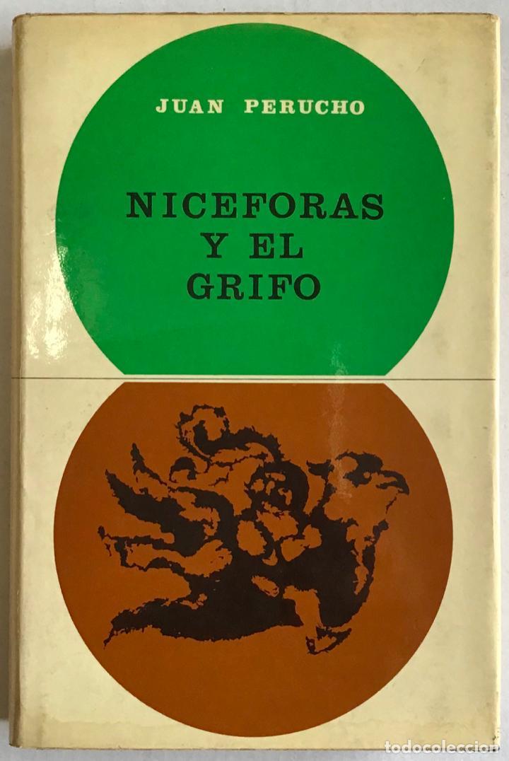 Libros antiguos: NICÉFORAS Y EL GRIFO. - PERUCHO, Juan. - Foto 2 - 123229920