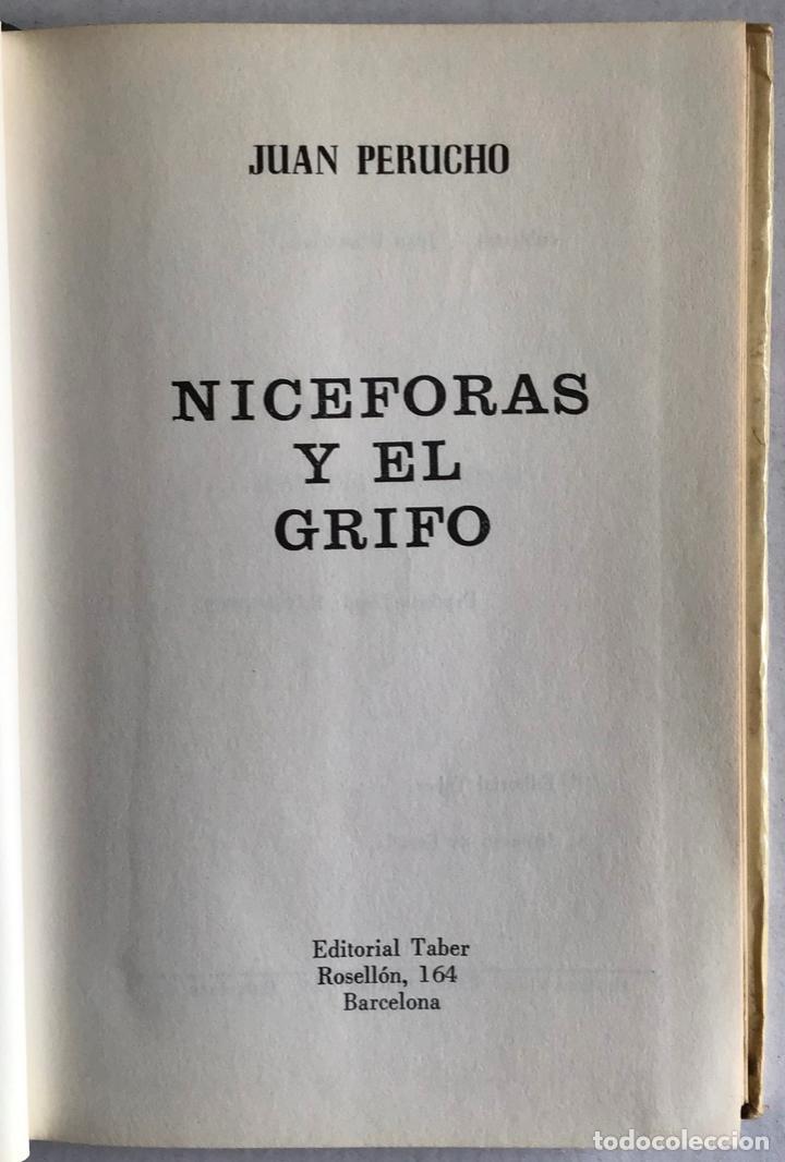 NICÉFORAS Y EL GRIFO. - PERUCHO, JUAN. (Libros antiguos (hasta 1936), raros y curiosos - Literatura - Narrativa - Ciencia Ficción y Fantasía)