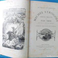 Libros antiguos: MICHEL STROGOFF - JULES VERNE. Lote 215642837