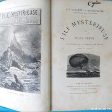 Libros antiguos: L'ILE MYSTÉRIEUSE- JULES VERNE. Lote 215643106