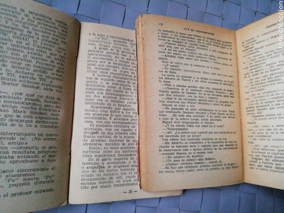 Libros antiguos: 1 Colección Luchadores del Espacio y 1 Colección Pueyo de Novelas Selectas - Foto 3 - 218833081