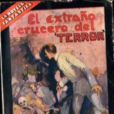 Libros antiguos: RENÉ THEVENIN : EL EXTRAÑO CRUCERO DEL TERROR (PRENSA MODERNA, S.F.) Nº 1 NOVELA FANTÁSTICA. Lote 221329161