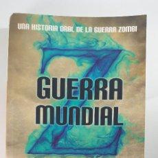 Libros antiguos: LIBRO-GUERRA MUNDIAL Z-MAX BROOKS-BOOKSPOCKET-VER FOTOS. Lote 221800531