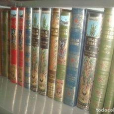 Libros antiguos: JULIO VERNE COLECCION HETZEL RBA LOTE DE 25 LISTADO EN EL INTERIOR. Lote 222280250