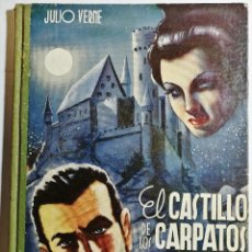 Libros antiguos: EL CASTILLO DE LOS CÁRPATOS. JULIO VERNE. SAENZ DE JUBERA. AÑOS 30.. Lote 222423581