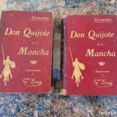 Libros antiguos: DON QUIJOTE DE LA MANCHA EDICIÓN 1923. Lote 222429211