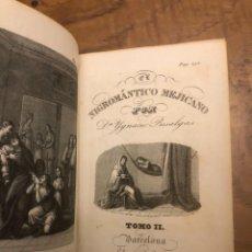 Libros antiguos: IGNACIO PUSALGAS. EL NIGROMÁNTICO MEJICANO, TOMO II. 1838. Lote 228324932